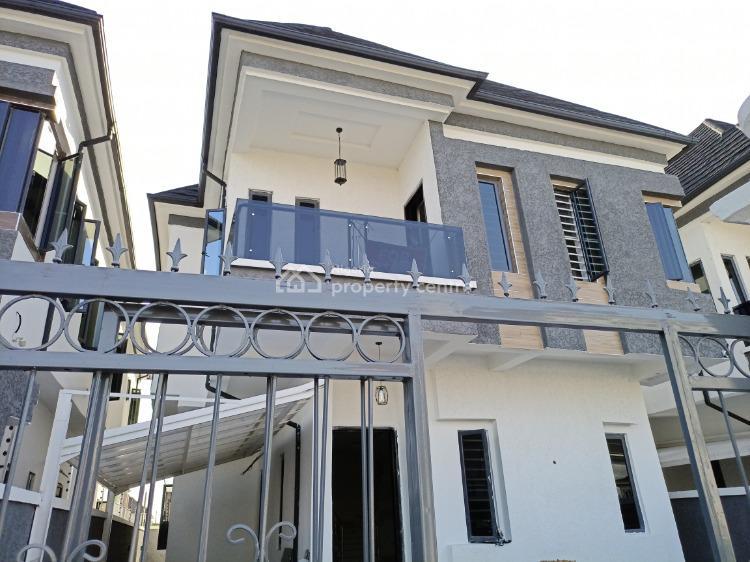 Flawlessly Finished 5 Bedroom Detached Duplex with Bq, Chevron, Lekki, Lagos, Detached Duplex for Rent