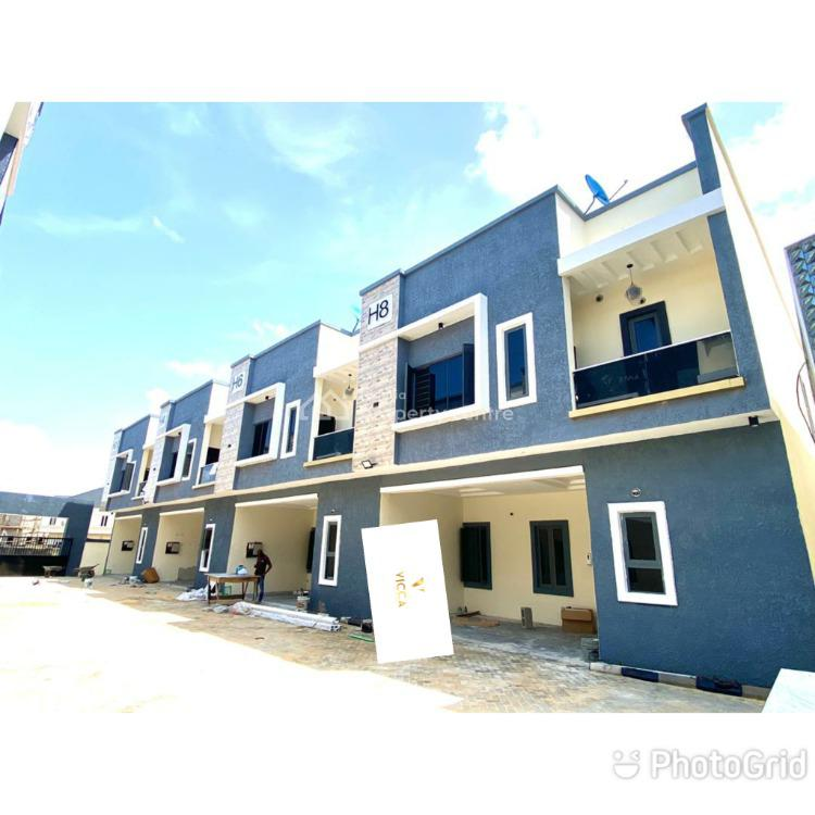 Fully Automated 4 Bedroom Terrace Duplex, 2nd Toll Gate, Lekki, Lagos, Terraced Duplex for Sale