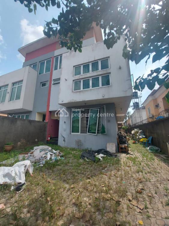 Quality Built & Very Spacious 4 Bedroom Terrace Duplex + Bq, Gra Phase 2, Magodo, Lagos, Terraced Duplex for Sale