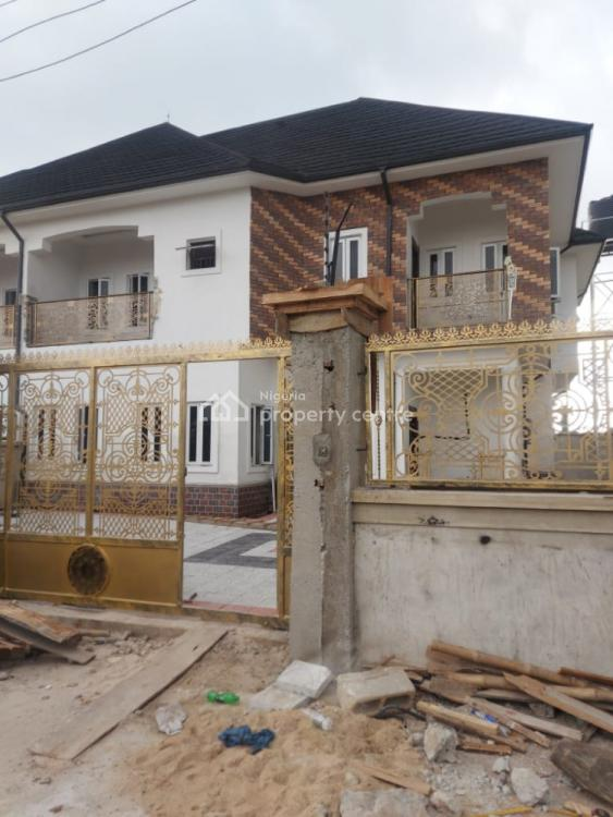 Brand New 4 Bedroom Duplex with Federal Light, Shell Co Operative Estate Eneka Link Rd, Eliozu, Port Harcourt, Rivers, Detached Duplex for Sale
