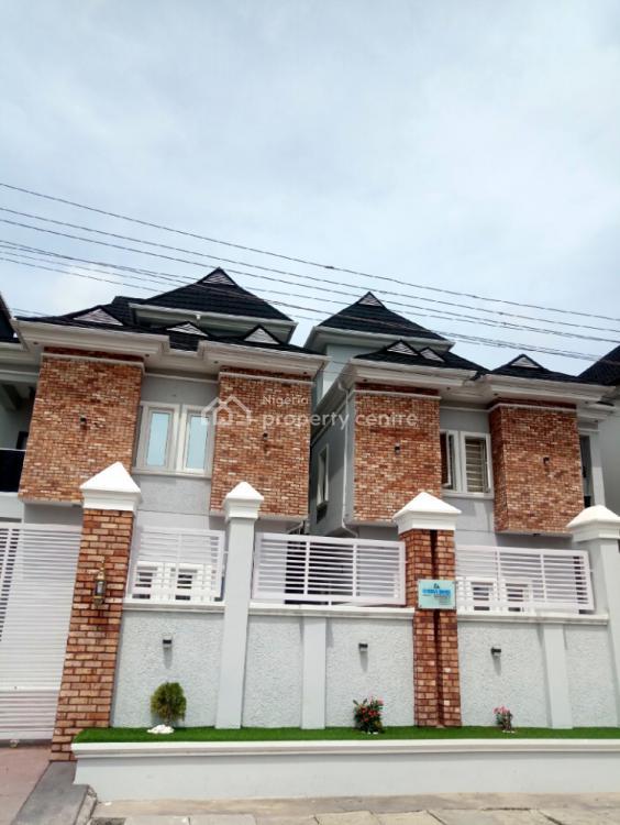 a Luxury 4 Bedroom Duplex, Shoprite Road, Osapa, Lekki, Lagos, Detached Duplex for Sale