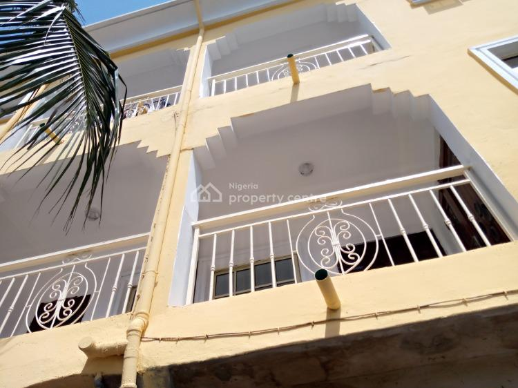 a Newly Built 2 Bedroom Upstairs, Canal Estate Off Ago Palace Way, Ago Palace, Isolo, Lagos, Flat for Rent