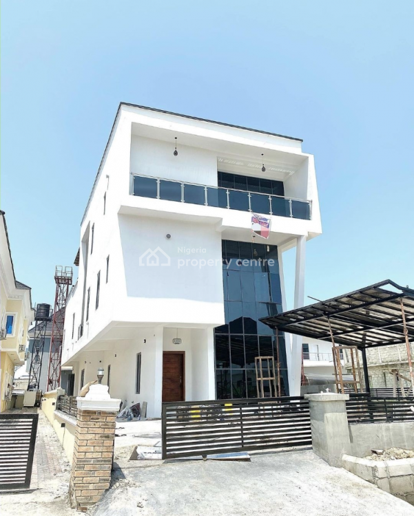 Luxury 5 Bedroom Fully Detached Duplex with Swimming Pool, Megamound Lekki County Estate, Ikota, Lekki, Lagos, Detached Duplex for Sale