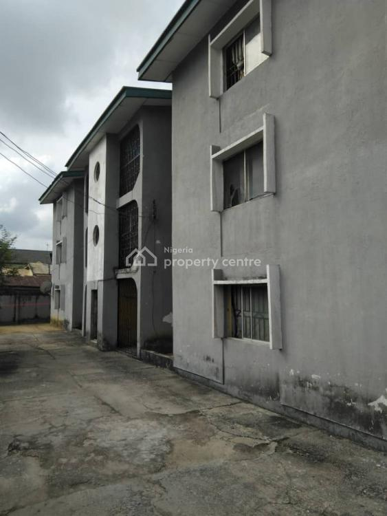 a Solid Blocks of Flats Containing 6 Flats and 6 Bq Rooms, Mgbuoba, Port Harcourt, Rivers, Block of Flats for Sale