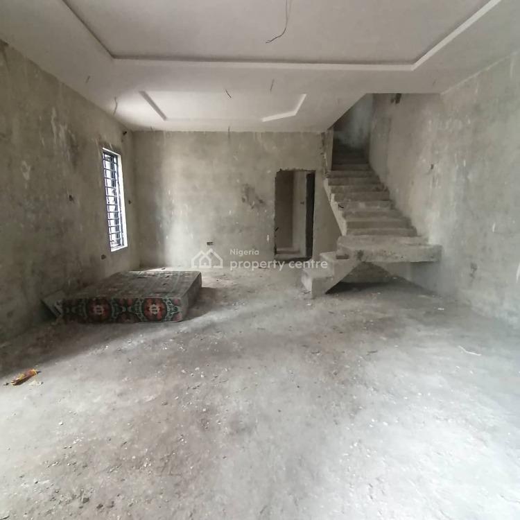 3 Bedroom Semi Detached Duplex (semi Finished Package), Bogije Axis, Lekki, Lagos, Semi-detached Duplex for Sale
