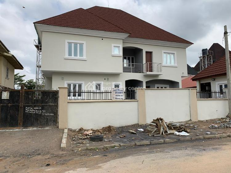 Fully Detached 4 Bedrooms House with a Maids Room, By Cedar Crest Hospital, Gudu, Abuja, Detached Duplex for Sale