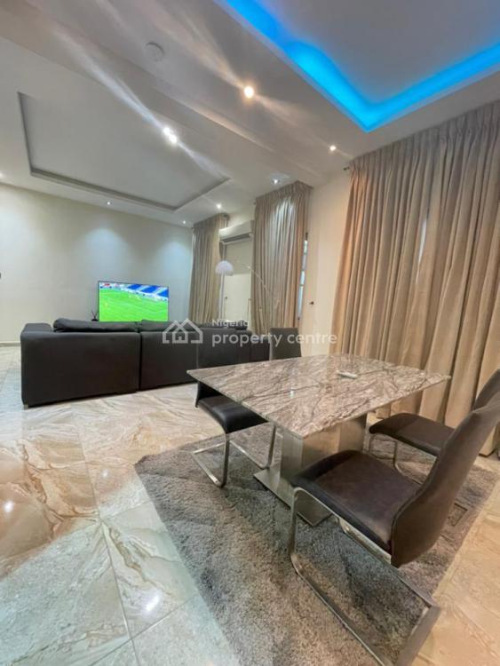 5 Bedroom Fully Furnished Duplex with Bq in a Serviced Estate, Chevron, Lekki, Lagos, Semi-detached Duplex for Rent