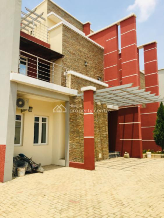 Tastefully Built 5 Units of 4 Bedroom Terrace Duplex with a Room Bq, Jahi, Abuja, Terraced Duplex for Rent
