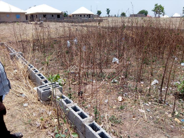 a 50 By 50 Plot for Three Bedrooms Bungalow, Beside Navy Estate, Orozo, Abuja, Residential Land for Sale