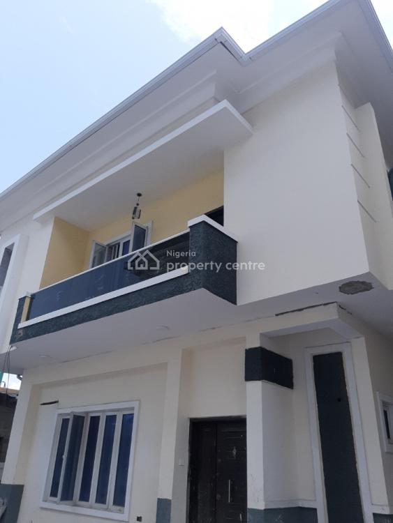 Spacious 4 Bedroom Detached Duplex with Enormous Parking Space., Chevron, Lekki, Lagos, Detached Duplex for Sale