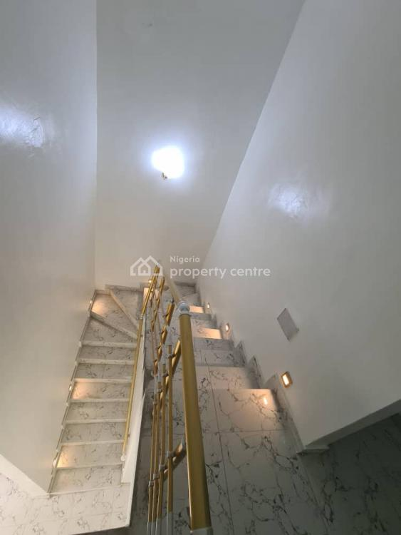 Smart 4 Bedroom Terraced, Along Orchid Hotel After Chevron Toll Gate, Lekki, Lagos, Terraced Duplex for Sale