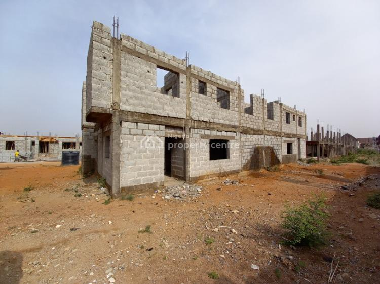 Well Located Uncompleted 4 Bedrooms Semi-detached House, Galadimawa, Abuja, Semi-detached Duplex for Sale