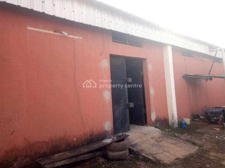 Massive Warehouse of 700sqm with Office Blocks, Close to St Patrick's Hospital, Emene, Enugu, Enugu, Warehouse for Sale