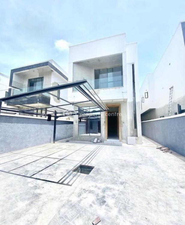 4 Bedroom Detached Duplex + Bq, Chevron, Lekki, Lagos, Detached Duplex for Sale
