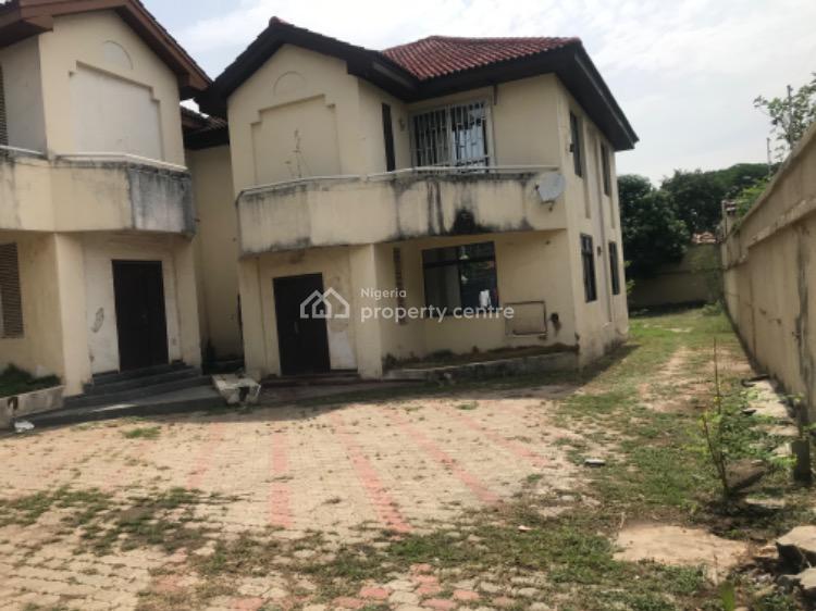 Dilapidated 8 Bedroom Detached House,massive Compound Space, Maitama District, Abuja, Detached Duplex for Sale