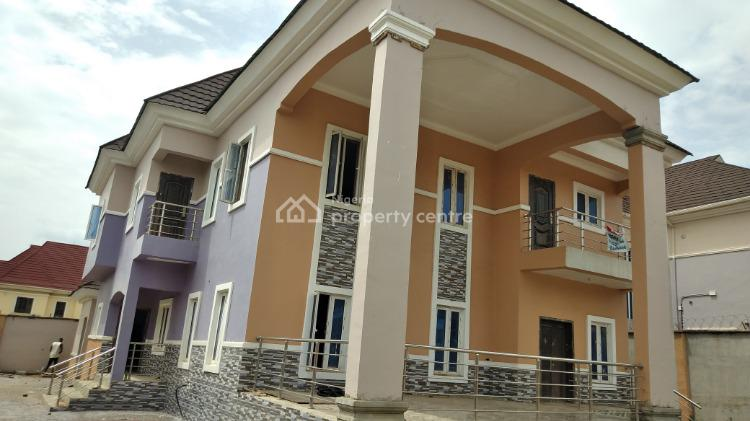 Fully Detached 4 Bedroom Duplex with a Room and Parlour Bq, Voice of Nigeria Junction, Airport Road, Lugbe District, Abuja, Detached Duplex for Rent