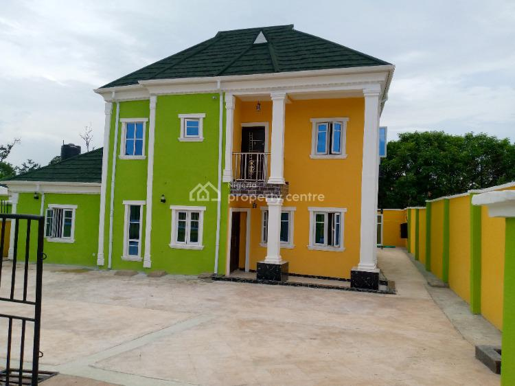 Fresh Luxury 2 Units of Detached 4 Bedroom Duplex in a Gated Estate, Groove Street, Larry Estate, Oluyole Estate, Oluyole, Oyo, Detached Duplex for Sale