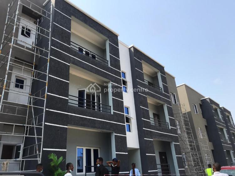 Luxuriously Built 1 Bedroom Apartment in an Outstanding Location, Goldstone Residence. Behind Novare Mall Shoprite., Sangotedo, Ajah, Lagos, Block of Flats for Sale