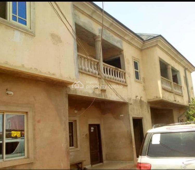 4 Flats of 3 Bedroom Apartment, Close to New Society Bus Stop, Emene, Enugu, Enugu, Detached Duplex for Sale