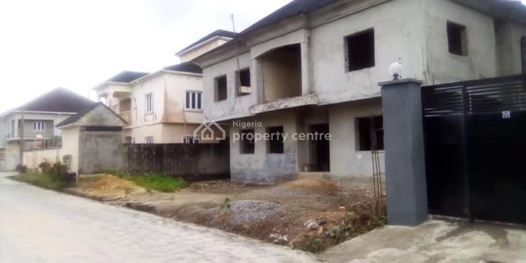 One  of The Best Estates: with Bq of 4 Bedroom Duplex, Peninsula Gardens Estate, Olokonla, Ajah, Lagos, House for Sale