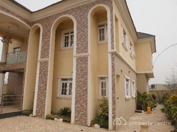 Brand New Detached 4 Bedroom Duplex + Free 32 Led Tv, By Cbn Quaters, Karu, Abuja, Detached Duplex for Sale
