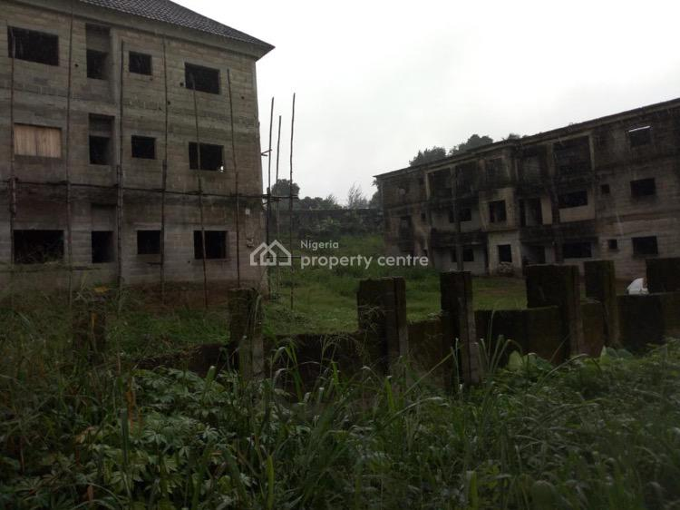 Two Blocks of Uncompleted Two Bedroom Flats in a Serene Environment, Ikot Ansa, Calabar, Cross River, Flat / Apartment for Sale