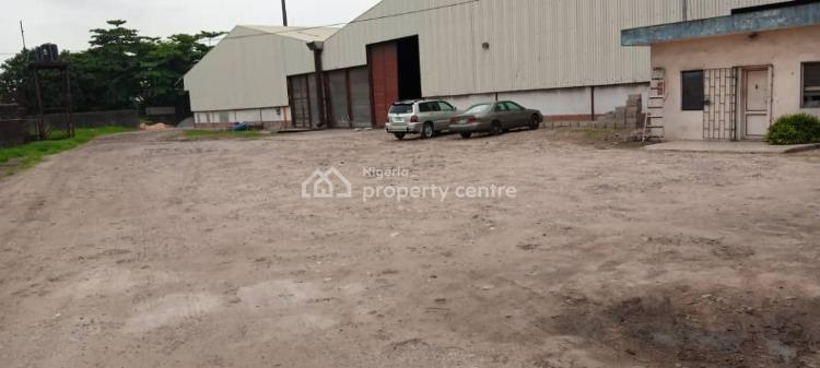 Clean and High Roof 14000 Square Feet Warehouse, Eric Moore, Surulere, Lagos, Warehouse for Rent