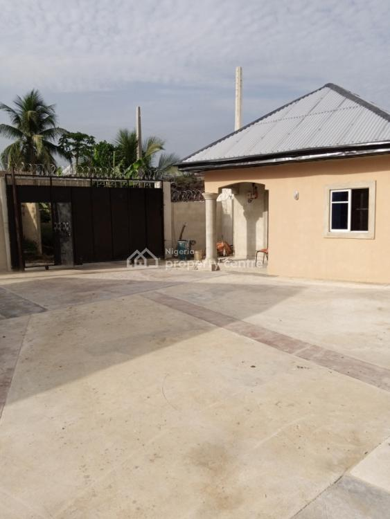 Tastefully Finished Standard One Bedroom Bungalow & Self-contained, Mbiabong, Off Oron Road, Opposite Shelter Market, Uyo, Akwa Ibom, Terraced Bungalow for Rent
