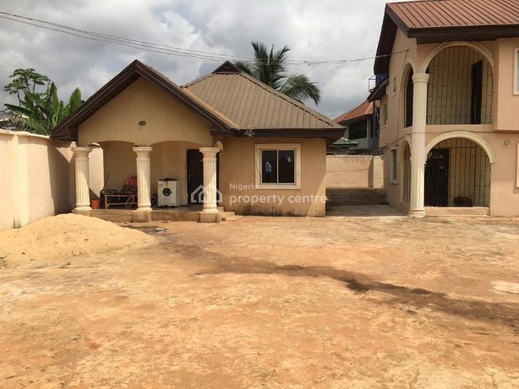 3 Units of 3 Bedroom Flat, Off Infant Jesus, After Government House, Anwai Road, Asaba, Delta, Detached Bungalow for Sale