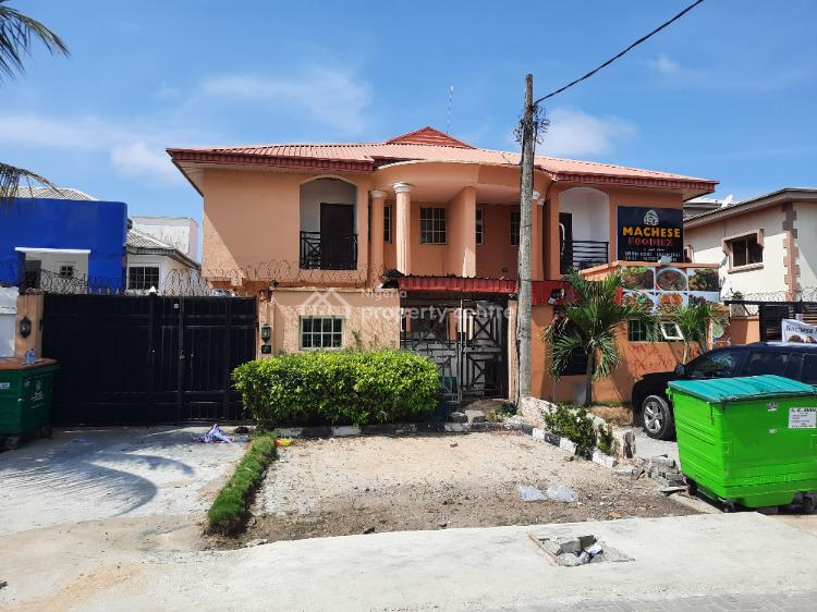2 Wings 4 Bedroom Semi Detached House with 2 Bedroom Flats, Attached Bq, Udecco Street,  Chevyview Estate, Chevron., Lekki, Lagos, Semi-detached Duplex for Sale