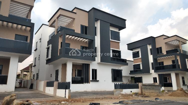 4 Bedrooms Duplex with Bq, 2 Parlour, Swimming Pool and Gym House, Katampe Extension, Katampe, Abuja, Detached Duplex for Sale