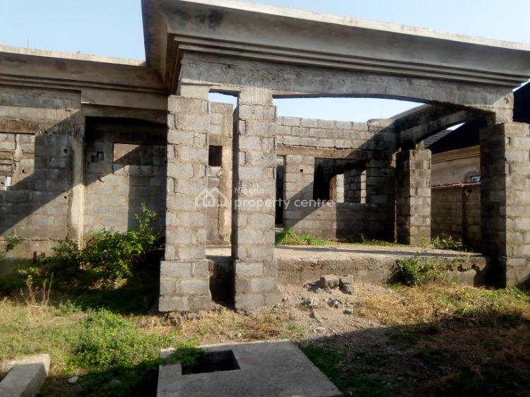 Basic Finish 4 Bedroom Datached Bungalow with Bq, Mab Global Estate, Idu Industrial, Abuja, Detached Bungalow for Sale