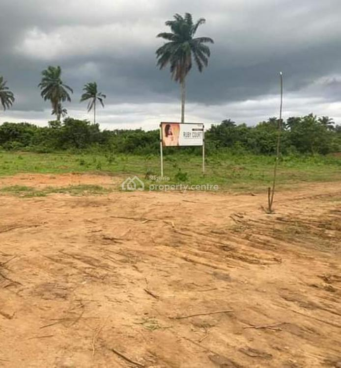 Dry Table Land in an Estate with a Strategic Location, Off Eneka - Igwuruta Road, Eneka, Port Harcourt, Rivers, Mixed-use Land for Sale