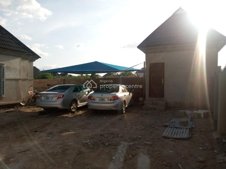 a Luxury Three Bedroom Bungalow with Bq, Alagbaka Extension, Akure, Ondo, Detached Bungalow for Sale