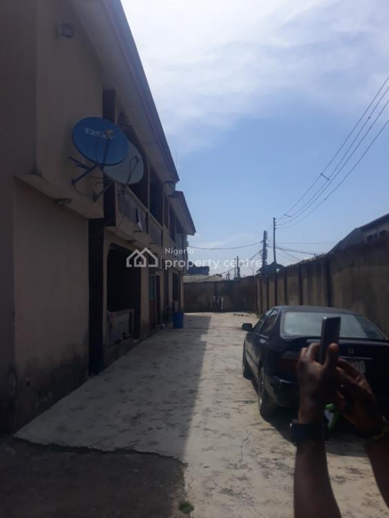 a Very Big Cornerpiece Block of 4 Flats of 3 Bedroom Each on Over 700sqm, Marcity, Ago Palace, Isolo, Lagos, Block of Flats for Sale