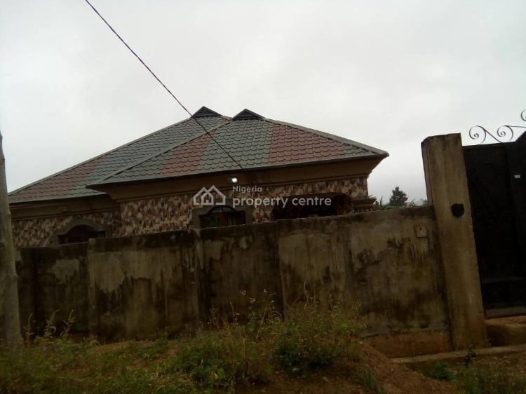 Three Bedroom Bungalow with Bq, Orita Obele, Akure, Ondo, Detached Bungalow for Sale