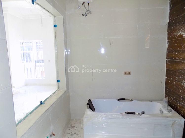 4 Bedrooms Semi Detached Duplex with Bq in a Gated Estate, Chevron, Lekki, Lagos, Semi-detached Duplex for Rent