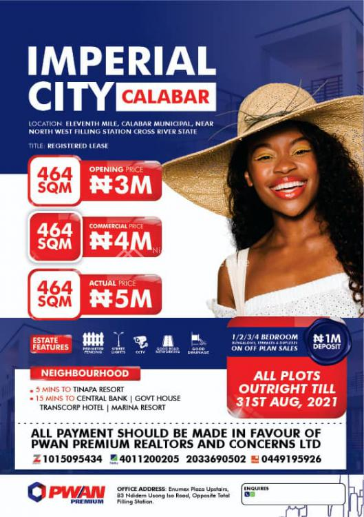Imperial City, 11th Mile Calabar Municipal, Near North West Filling Station, Calabar, Cross River, Mixed-use Land for Sale
