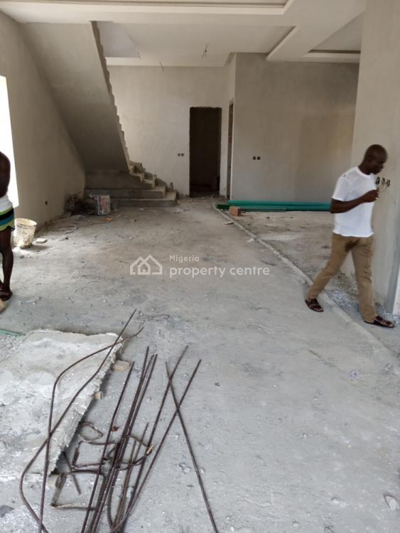 New 5 Bedroom Detached House with Bq & Gym House (under Construction), Abimbola Street, Ikate Elegushi, Lekki, Lagos, Detached Duplex for Sale