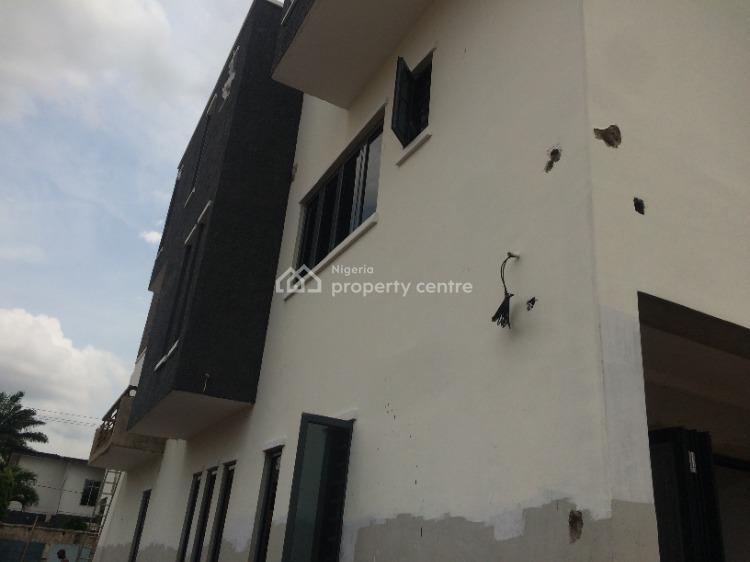 Newly Built 4 Bedrooms Semi Detached Duplex, Shonibare Estate, Maryland, Lagos, Semi-detached Duplex for Sale