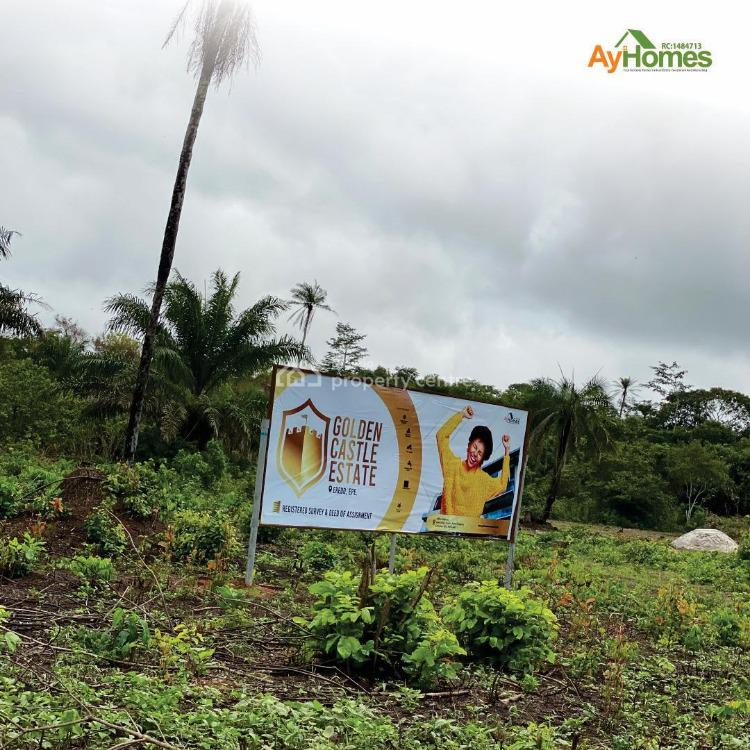 Dry Table Land in a Well  Developed Residential Environment, Close to St. Augustine University, Epe, Lagos, Residential Land for Sale