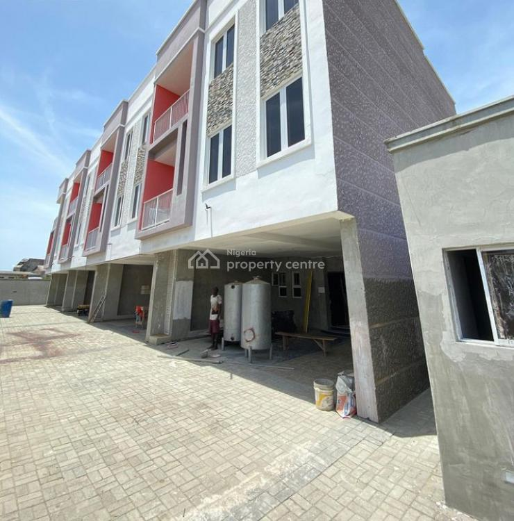 Magnificient 5 Bedroom Terraced Townhouse with a Bq, Ologolo, Lekki, Lagos, Terraced Duplex for Sale