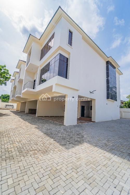 Newly Built 4 Units of 4 Bedroom Terraced Duplex, Victoria Island (vi), Lagos, Terraced Duplex for Sale