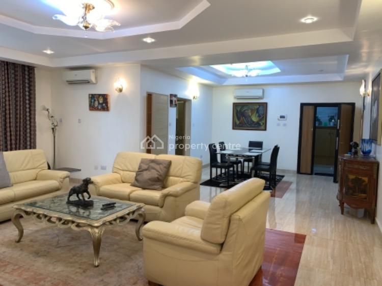 Magnificent Luxury Fully Furnished 3 Bedrooms Flat with 1 Room Bq, 2nd Avenue, Banana Island, Ikoyi, Lagos, Flat / Apartment for Rent