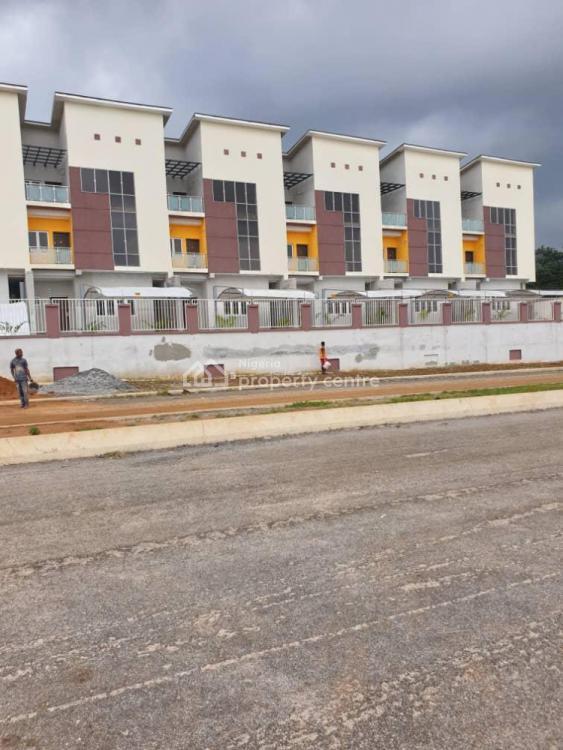 Spacious 4 Bedroom Terrace Duplex with Bq, Jahi, Abuja, Terraced Duplex for Sale