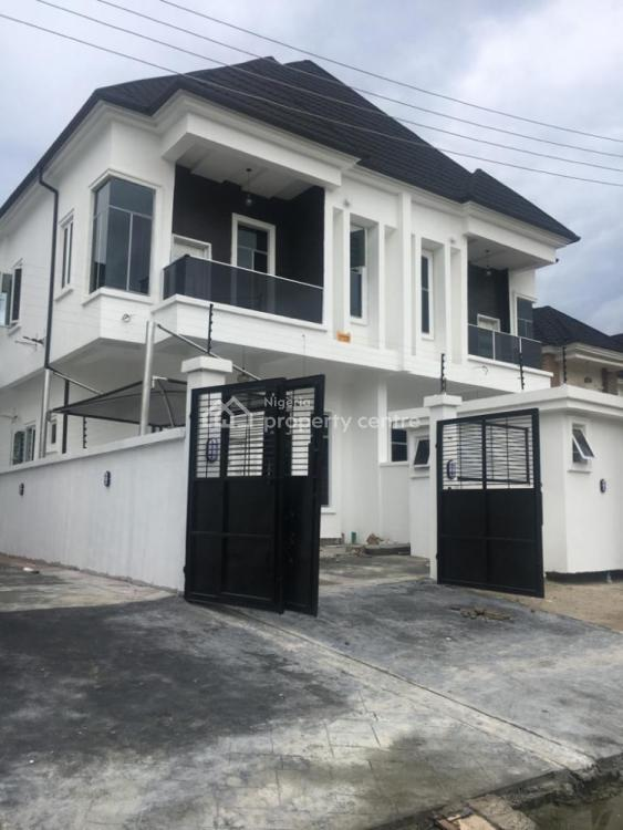 Brand New 4 Bedrooms Duplex with Bq, Chevy View Estate, Chevron Drive, Lekki, Lagos, Semi-detached Duplex for Rent
