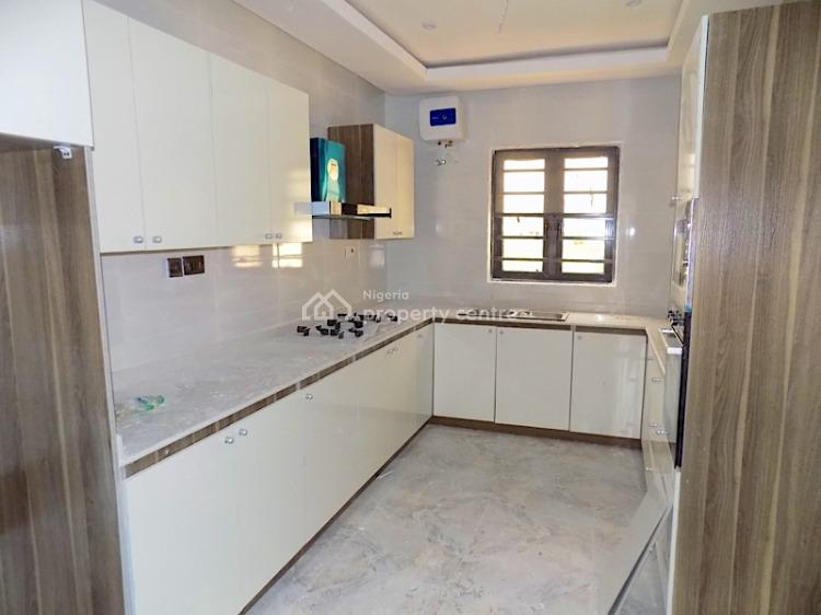 New House. 4 Bedroom Terraced Duplex with Bq with 24 Hours Power, By Roundabout, Jakande, Lekki, Lagos, Terraced Duplex for Sale