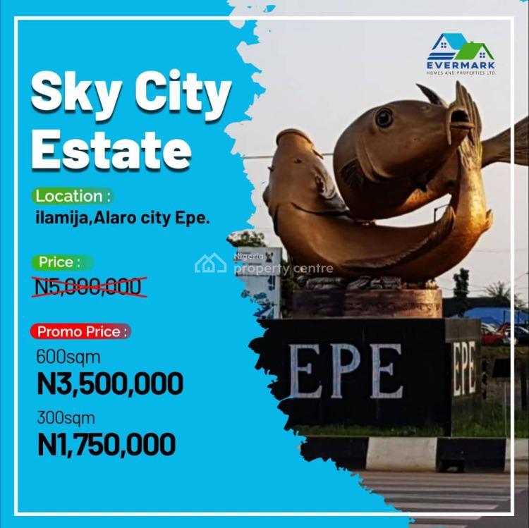 Sky City Estate, Ilamija, Alaro City, Epe, Lagos, Residential Land for Sale