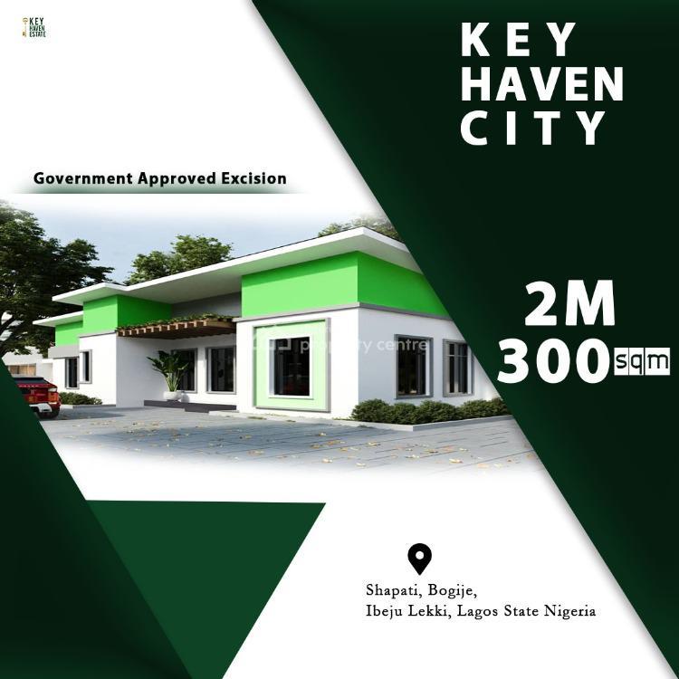 Land, Key Haven City, Shapati, Bogije, Ibeju Lekki, Lagos, Residential Land for Sale