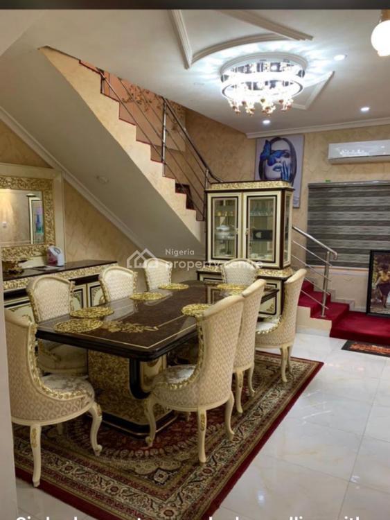 Luxury 5 Bedroom Fully Detached Furnished Duplex with Bq, Kado, Abuja, Detached Duplex for Sale